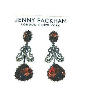 Jenny Packham Drop Post Earrings